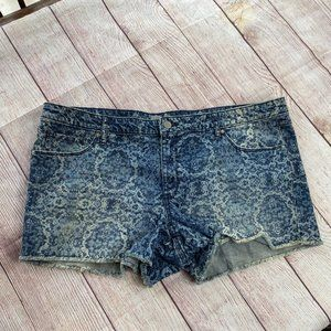 Mossimo Target Women's Blue Jean Shorts